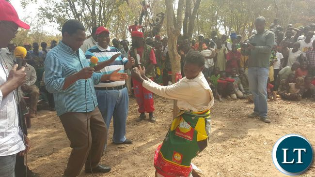 HH and UPND Campaign Team for Patrick Mucheleka in Lubansenshi