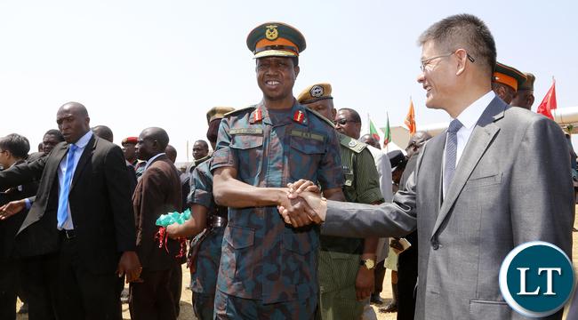 President Lungu Thanks China Ambassador To Zambia