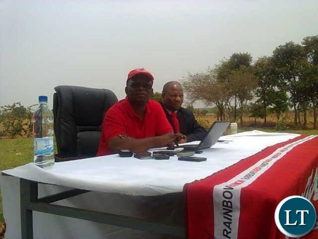 Dr Cosmas Musumali, the first Deputy General Secretary of  the Rainbow Party