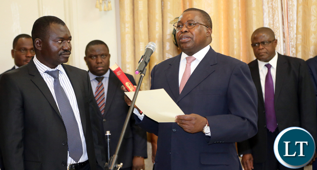 Zambia President Edgar Lungu Appoints Bishop Chomba As