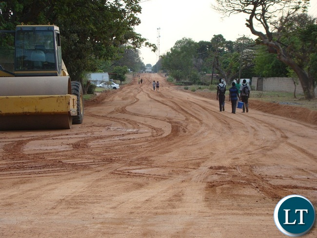 MOST of the roads in Choma district are being worked on by the engaged contractors.