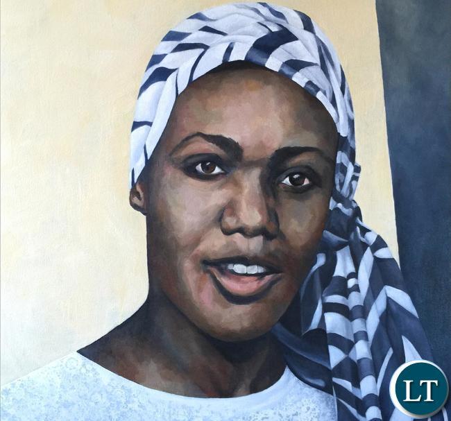 Lucy Banda Sichone Potraite