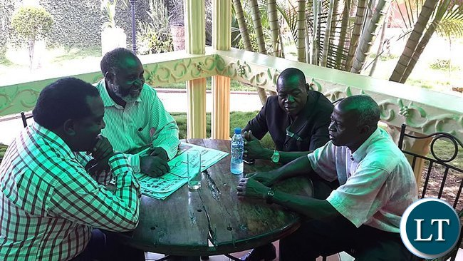 MMD leader meeting during the mobilisation drive