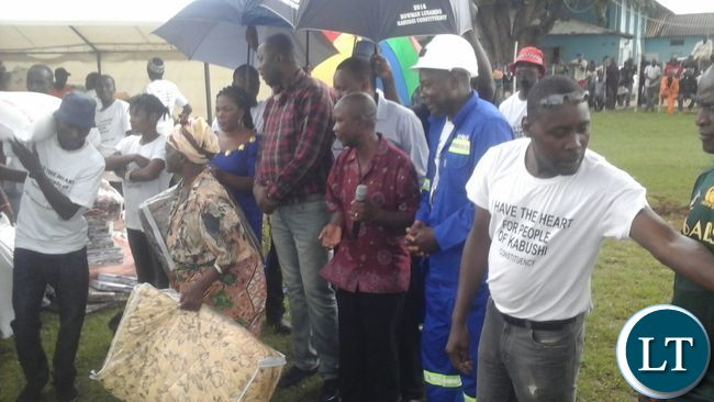 Some of the elders receiving their donations_1