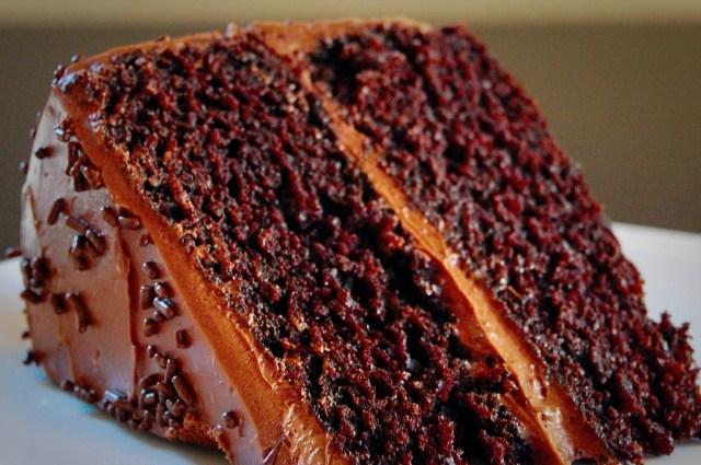 proper chocolate cake