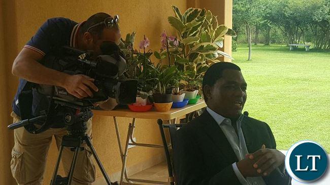 HH speaking to Aljazeera