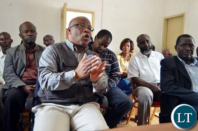 MMD President Dr. Nevers Mumba