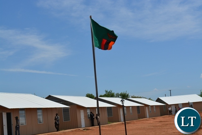 Above is Victoria Falls Adventist Primary which was officially launched in Livingstone