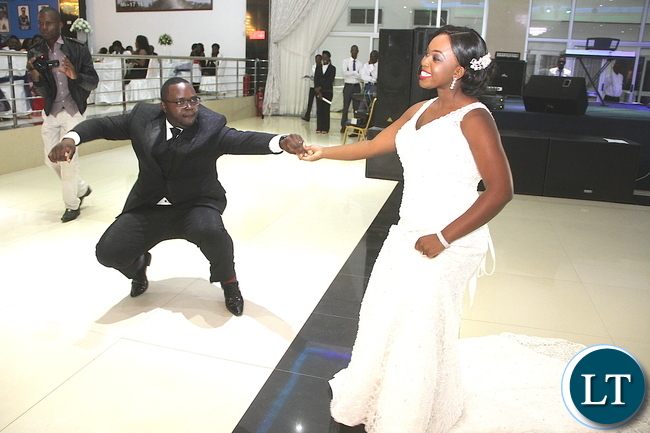 Zambia Army Lt Gen Paul Mihova's son Kayombo and Lucy Kalimanshi –Mihova's Wedding