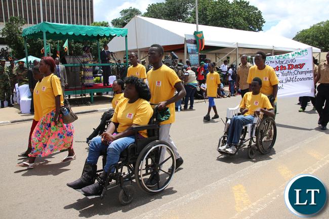 Zambia Leonard Cheshire Home Society members.