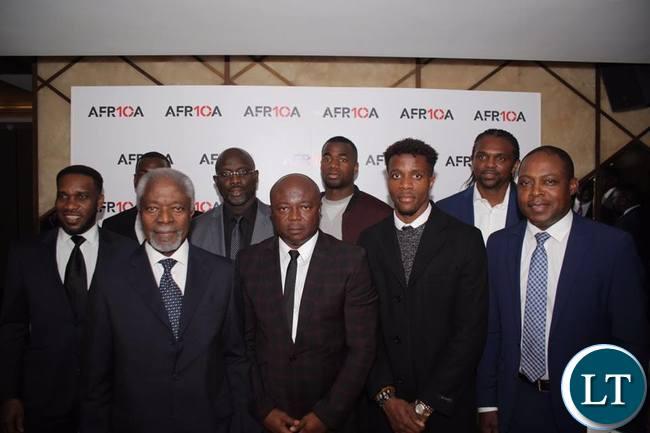 Kalusha, Koffi Annan and legends