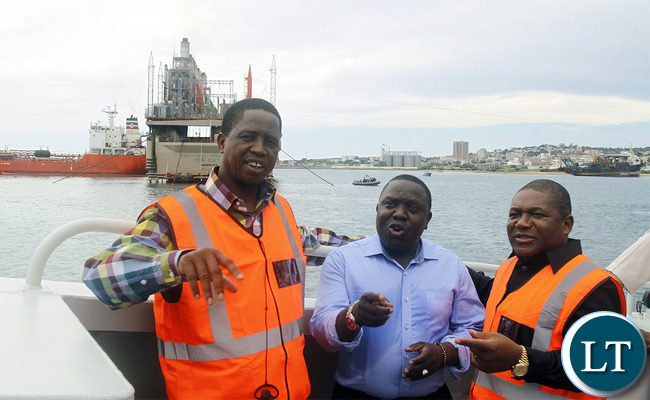 COMMISSIONING OF KARPOWERSHIP VESSEL IN NACALA,MOZAMBIQUE