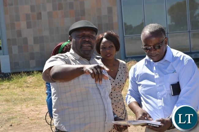 MINISTER of Development Planning Lucky Mulusa