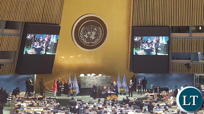 Paris Agreement Signature Ceremony