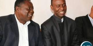 Mulenga Sata with Edward Mumbi