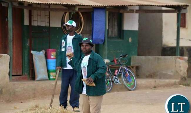 PF cadres attacking UPND members