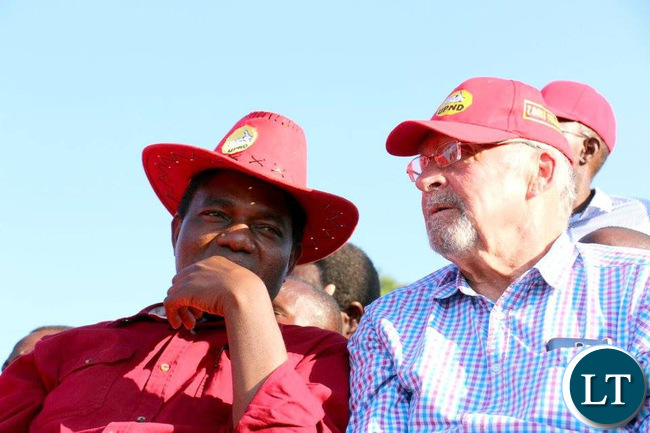 HH and Former PF Vice President Guy Scott