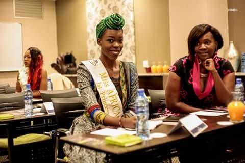 Miss Zambia Michelo Malambo