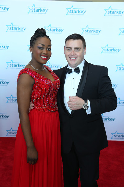 Portia with her Husband Brandon Clark
