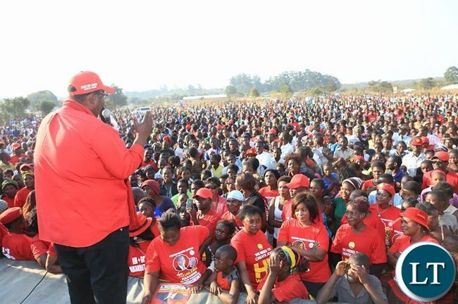 GBM at a UPND Rally