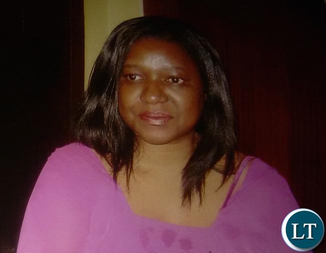 United Party for National Development (UPND) senior lawyer Martha Mushipe