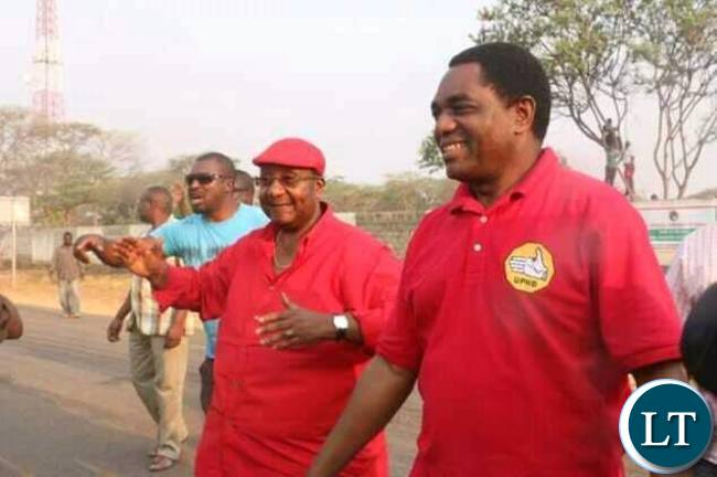 HH and GBM in Kitwe