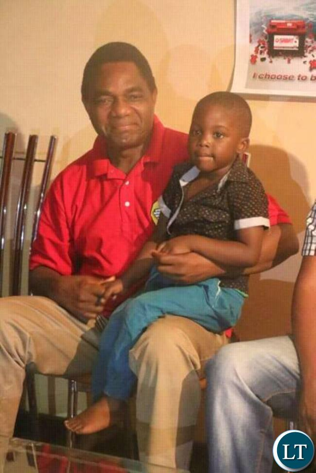 HH visiting the home of one of the detained UPND officials
