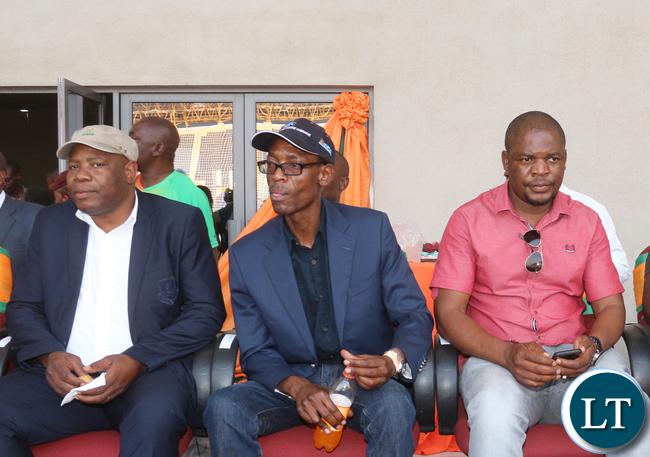 Some Zesco senior managers.