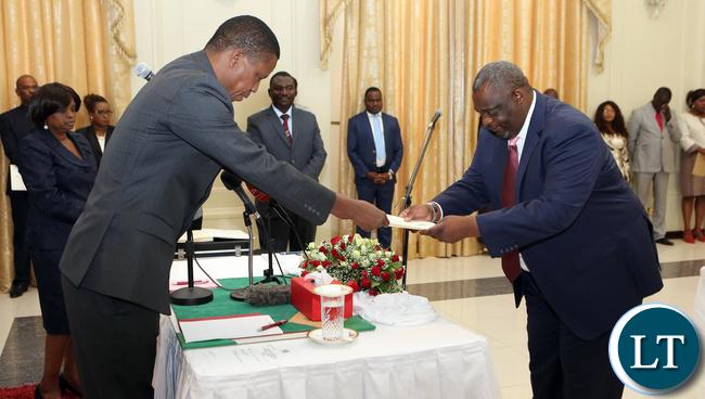 Amos Mwila Musonda Chair Person Local Government Service Commission