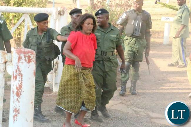 Another female UPND suppoters picked up by police