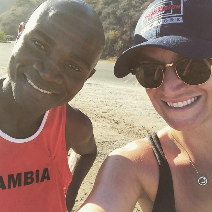 Ashley Avis and Prince Mumba
