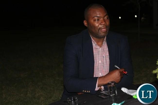 Copperbelt Minister Bowman Lusambo