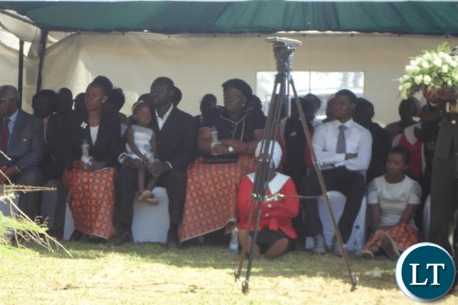 The family of late Dr J L Kanganja-picture by Aubrey K Chindefu