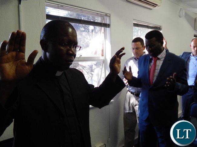 Father Harrison Mulenga of Pretoria