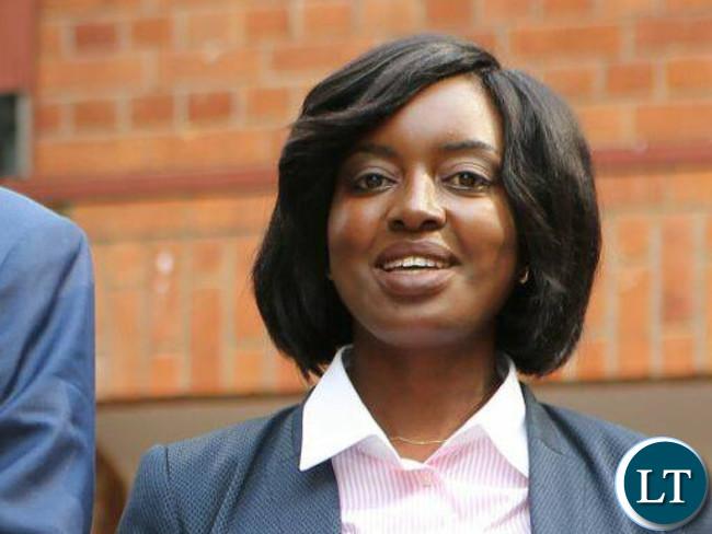 Director of Public Prosecution Fulata Lillian Shawa Siyuni
