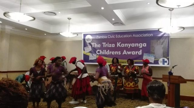 Mwelembo cultural Group providing some entertainment