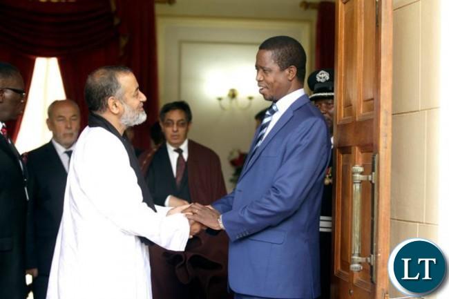 president-edgar-lungu-chats-with-ambassador-of-the-saharawi-arab-democratic-republic-brahim-salam-el-mami