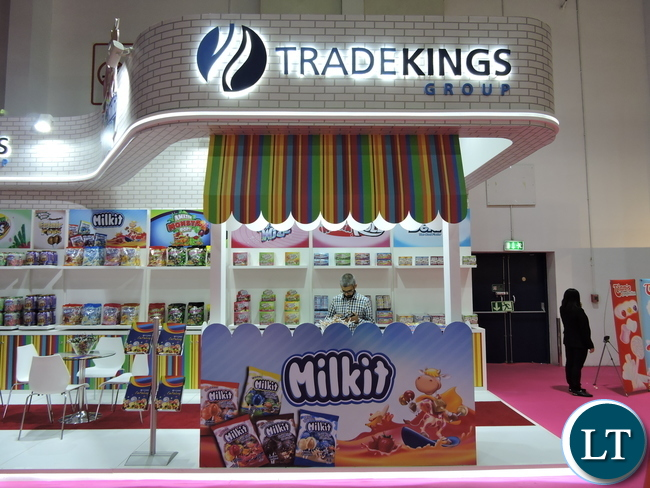 The entrance to the Trade Kings Group stand in the Pavillion
