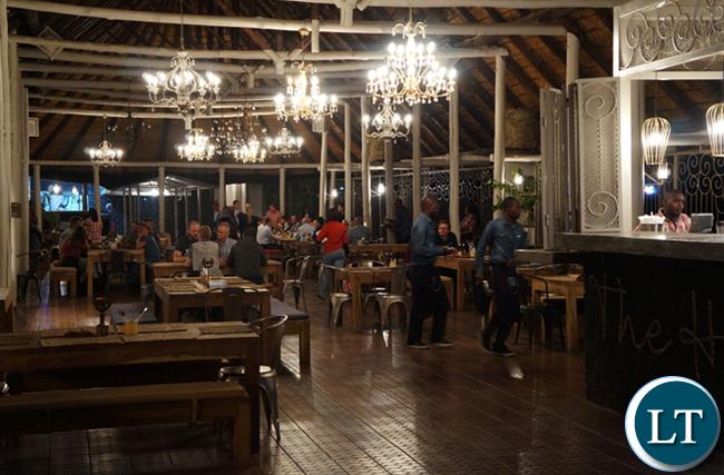 Horse Shoe Restaurant in Lusaka