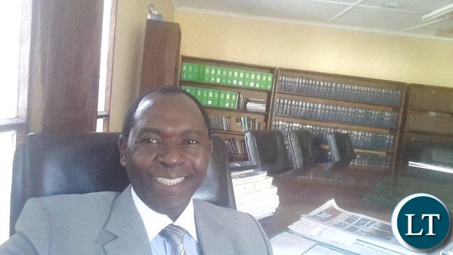 PF deputy elections chairperson Kelvin Bwalya Fube