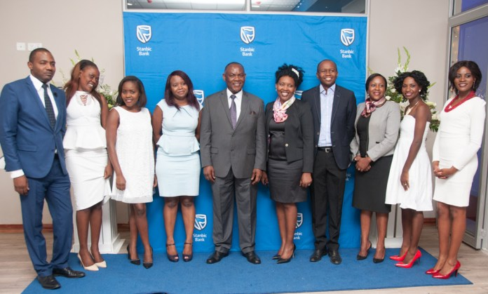 Stanbic Bank Zambia executives and stakeholders at their annual function.