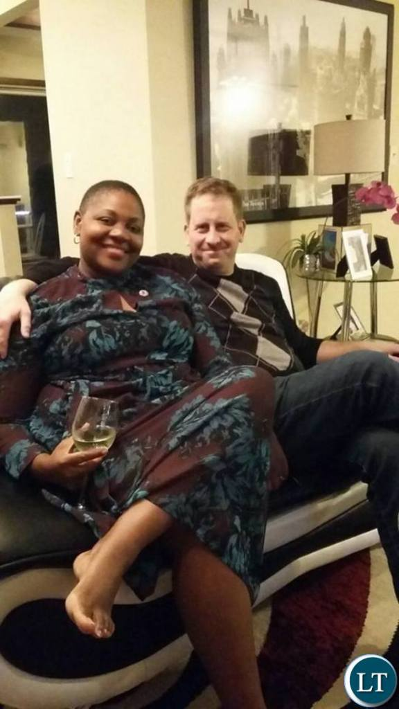 Princess Kasune Zulu with her husband David