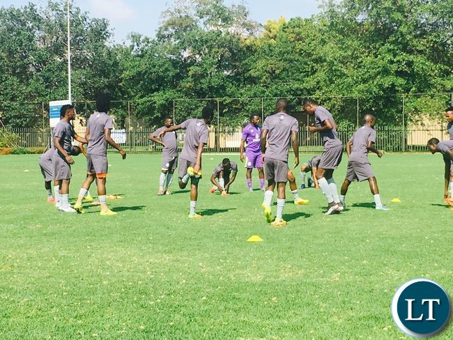 ZESCO Training camp