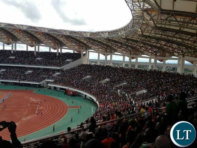 Zambia Vs Guinea in Under-20 Nations Cup Tournament