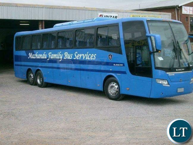Suspended Mazhandu buses