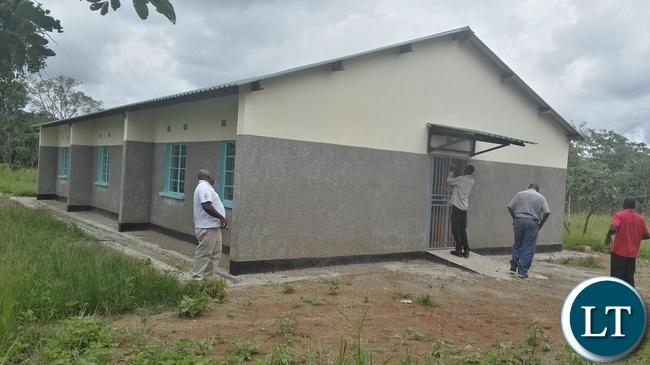 A dormitory for girls at Matebo Primary School in Chief Matebo's area of Kalumbila