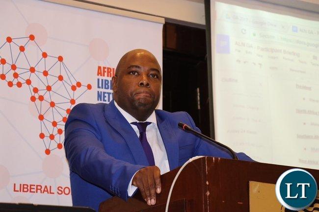 African Liberal Networks President Stevens Mokgalapa