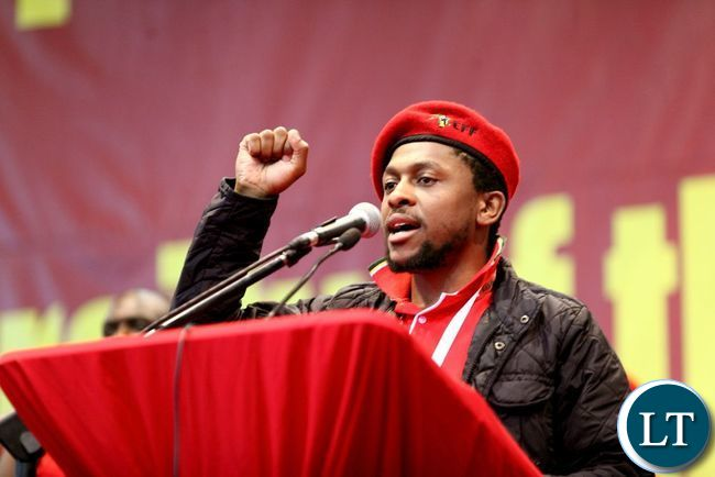 EFF Spokesman Mbuyiseni Quinton Ndlozi