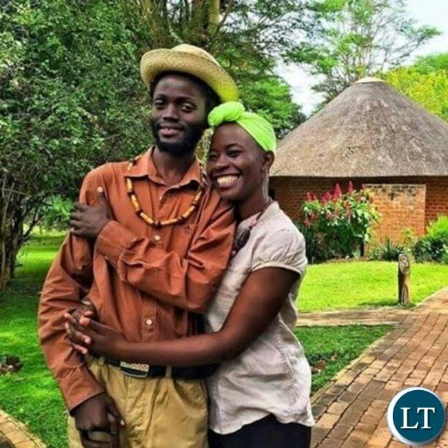 Mumba Yachi and Wezi holding each other tightly