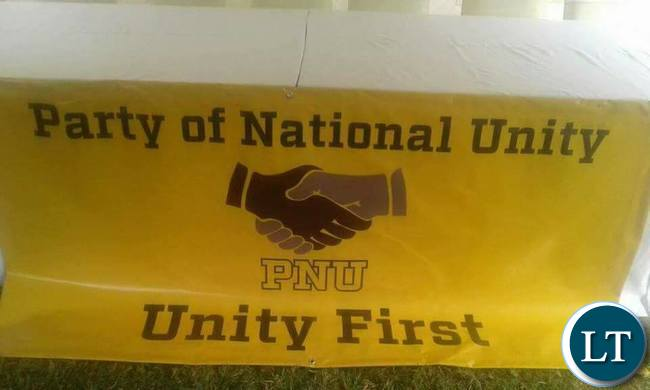 Party for National Unity Banner